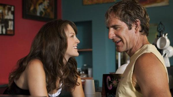 Scott Bakula appears in a 2009 scene from the TNT series Men of a Certain Age. - Provided courtesy of TNT Originals