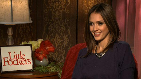 Jessica Alba speaks in a video interview provided by Universal Pictures about the movie Little Fockers in December 2010. - Provided courtesy of Universal Pictures