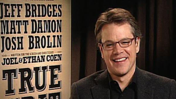 Matt Damon is 'flamboyant' in 'True Grit'