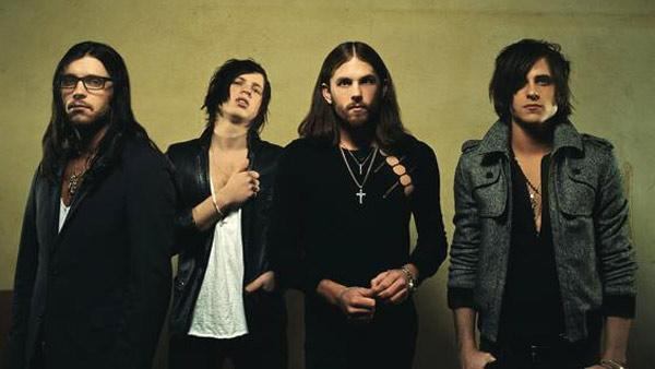 Kings of Leon band members appear in an undated 2010 photo on the groups MySpace page. - Provided courtesy of myspace.com/kingsofleon