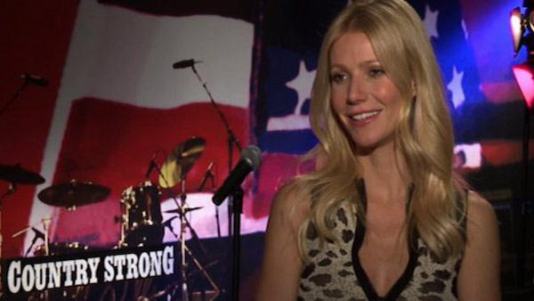 Gwyneth Paltrow talks to KABC Television, OnTheRedCarpet.coms parent company, in December 2010 about her film Country Strong. - Provided courtesy of OTRC