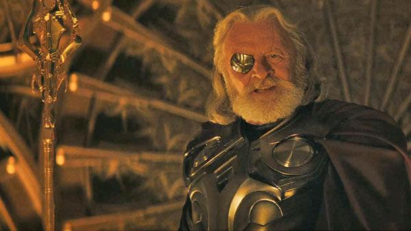 Anthony Hopkins as 'Odin' in a scene from the 2011  film, 'Thor'.