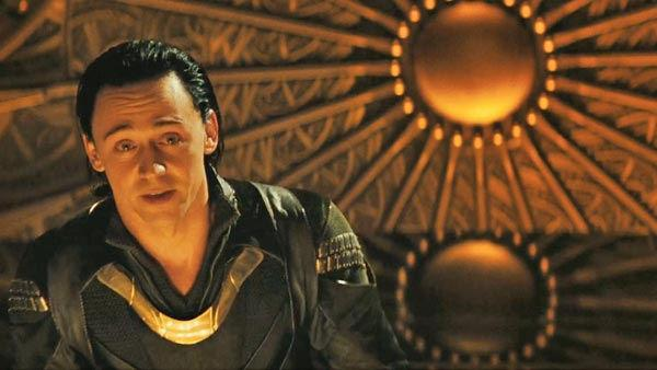 Tom Hiddleston as 'Loki' in a scene from the 2011  film, 'Thor'.