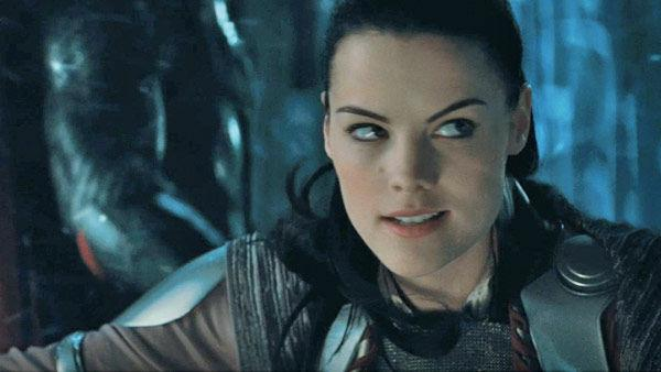 Jaimie Alexander as 'Lady Sif' in a scene from the 2011  film, 'Thor'.