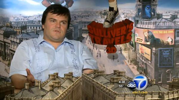 Jack Black skipped 'Gulliver' homework