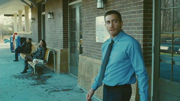 Jake Gyllenhaal as 'Colter Stevens' in a scene from the 2011  film, 'Source Code.'