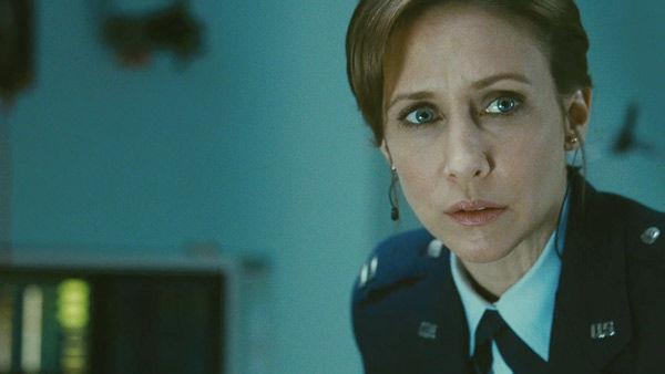 Vera Farmiga as 'Carol Goodwin' in a scene from the 2011  film, 'Source Code.'