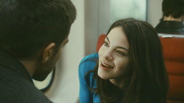 Michelle Monaghan as 'Christina' in a scene from the 2011  film, 'Source Code.'