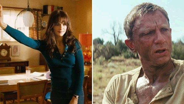Rachel Weisz appears in a scene from the 2009 movie, The Lovely Bones. / Daniel Craig as Jake Lonergan in a scene from the 2011 film, Cowboys & Aliens, directed by Jon Favreau. - Provided courtesy of DreamWorks SKG / Touchstone Pictures / Universal Pictures