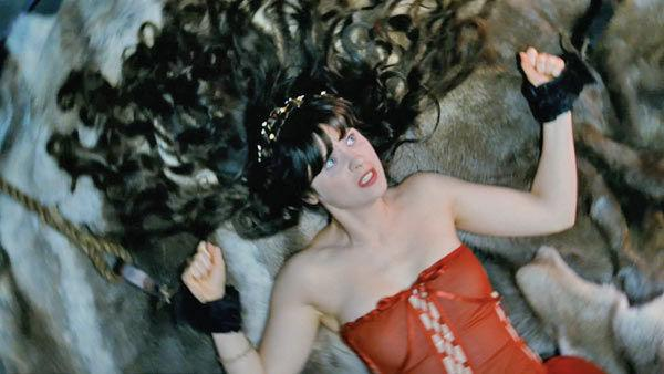 Zooey Deschanel as 'Belladonna' in a scene from the 2011  film, 'Your Highness.'