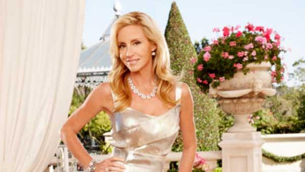 Camille Grammer in a production still from The Real Housewives of Beverly Hills in 2010. - Provided courtesy of Adam Olszewski/Bravo