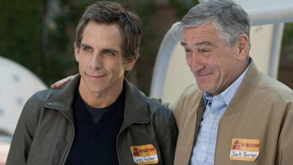 Ben Stiller and Robert De Niro appear in a movie still from the 2010 movie Little Fockers. - Provided courtesy of DW Films