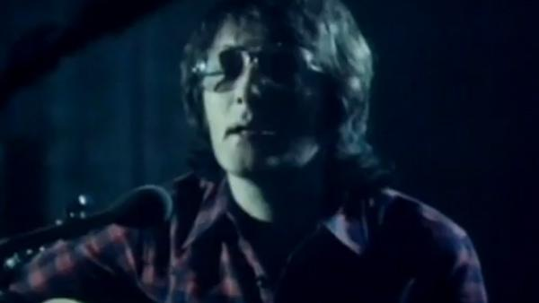 Gerry Rafferty appears in a music video for his 1978 song, 'Baker Street.'