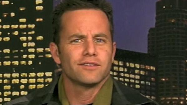 Kirk Cameron appears on CNN on Jan. 5, 2011.