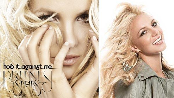 The cover of Britney Spears new single, Hold It Against Me, set to debut on Jan. 11, 2011. / Britney Spears is pictured in this undated 2010 photo, posted on her Twitter page. - Provided courtesy of twitter.com/britneyspears
