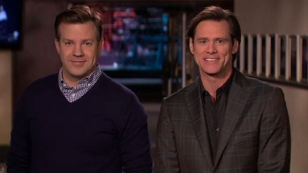 Jim Carrey in a January 2011 promotional still for Saturday Night Live. - Provided courtesy of NBC
