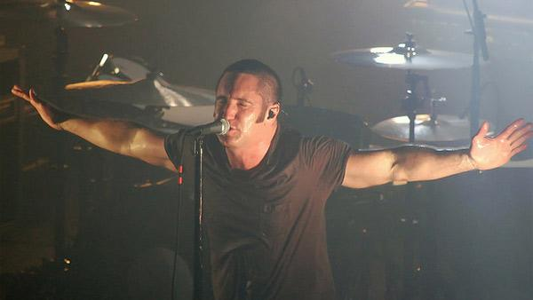 Trent Reznor performs at the Music Box in Los Angeles on Sept. 8, 2009. - Provided courtesy of flickr.com/photos/mykalburns