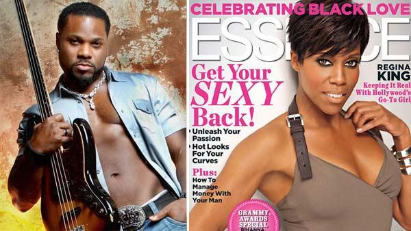 Malcolm Jamal-Warner appears in an undated 2010 photo posted on his Twitter page. / Regina King appears on the cover of Essence magazines February 2011 issue. - Provided courtesy of twitter.com/malcolmjamalwar / Essence