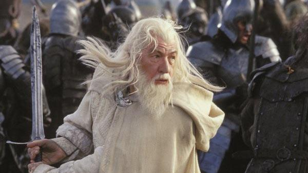 Ian McKellen as Gandalf in the 2003 film The Lord of the Rings: Return of the King. - Provided courtesy of New Line Cinema