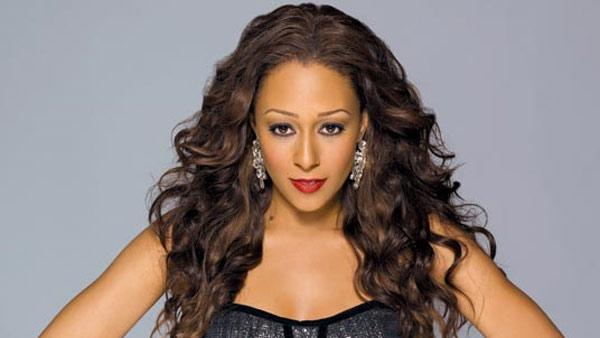Tia Mowry in a 2011 production still for the BET series The Game - Provided courtesy of BET