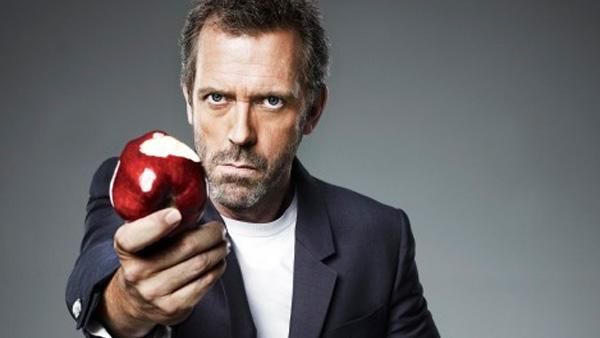 Hugh Laurie appears in a 2010 promotional photo for the FOX series, House M.D. - Provided courtesy of FOX
