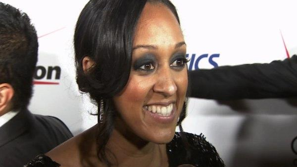 Tia Mowry speaks to OnTheRedCarpet.com in June 2010.