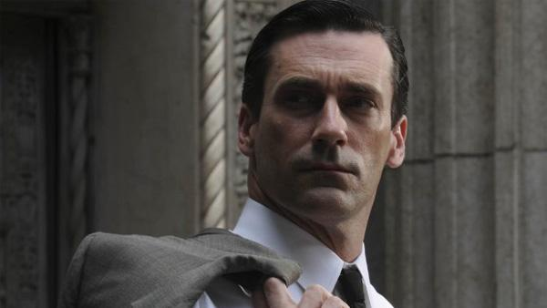 Jon Hamm appears in a scene from Mad Men. - Provided courtesy of AMC