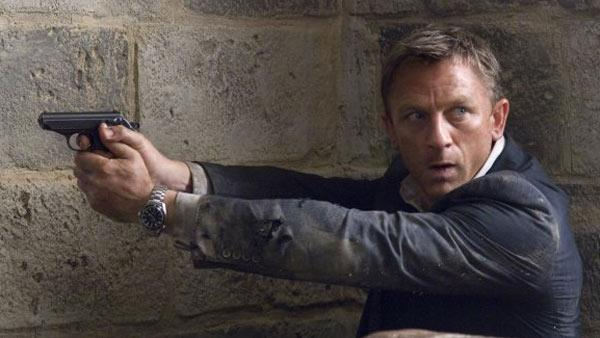 Daniel Craig appears as James Bond in a scene from the 2008 movie Quantum of Solace. - Provided courtesy of Metro-Goldwyn-Mayer (MGM) / Columbia Pictures