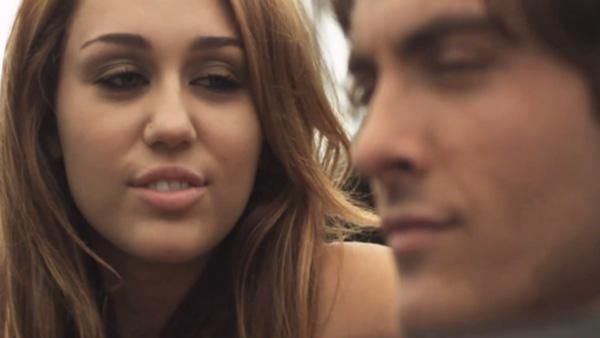 Miley Cyrus and Kevin Zegers appear in Rock Mafias Big Bang music video. - Provided courtesy of Rock Mafia / youtube.com/watch?v5etLRgwXmh0