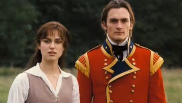 (Pictured: Keira Knightley and Rupert Friend in a scene from Pride and Prejudice.) - Provided courtesy of Universal Pictures / Focus Features