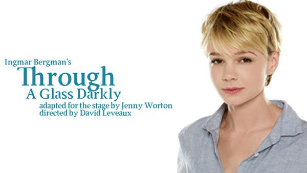 Carey Mulligan appears in a promotional photo for the 2011 play Through a Glass Darkly. - Provided courtesy of Atlantic Theater Company