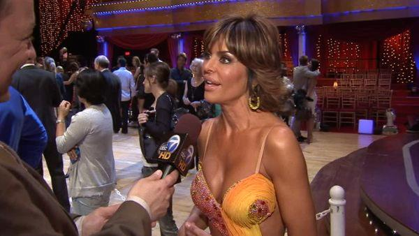 Actress Lisa Rinna is one of the 2011 contestants of Donald Trump's reality show 'Celebrity Apprentice.' (Pictured: Lisa Rinna speaks to OnTheRedCarpet.com in April 2010.)