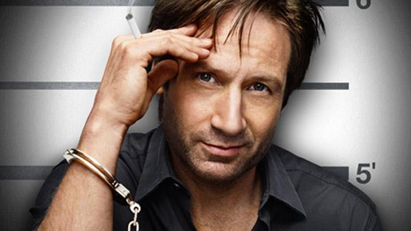 David Duchovny appears in a 2010 promotional photo for the Showtime series, Californication. - Provided courtesy of Showtime