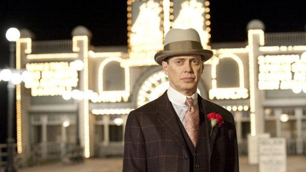 Steve Buscemi appears in a 2010 promotional photo for the HBO series Boardwalk Empire. - Provided courtesy of HBO
