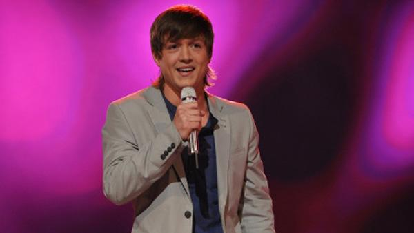 Alex Lambert appears in a promotional photo for American Idols season 9 in 2010. - Provided courtesy of Michael Becker / FOX