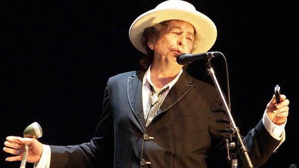 Bob Dylan appears at the 2010 Azkena Rock Festival in Spain in June 2010. - Provided courtesy of flickr.com/photos/denaflows