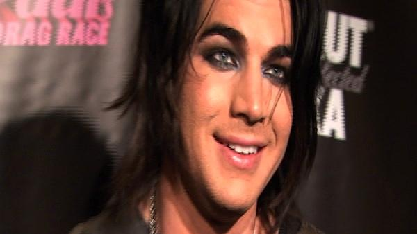 Adam Lambert, glam rocker and American Idol alum, speaks to OnTheRedCarpet.com at the L.A. premiere of RuPauls Drag Race season three in January 2011.