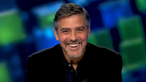 George Clooney appears on Piers Morgan Tonight in an interview that airs on Jan. 21, 2011. - Provided courtesy of CNN / Turner Broadcasting / Piers Morgan