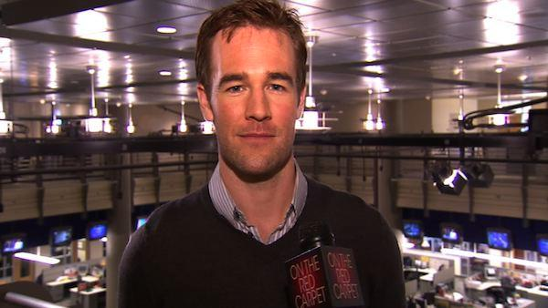 James Van Der Beek's new role