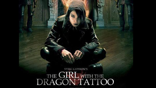 A promotional poster for the 2009 movie, The Girl with the Dragon Tattoo. - Provided courtesy of Zodiac Entertainment