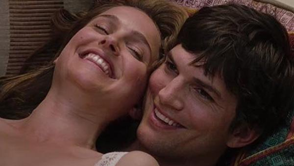 Natalie Portman and Ashton Kutcher in a still from the 2011 movie, No Strings Attached. - Provided courtesy of Photo courtesy of Paramount Pictures