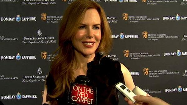 Nicole Kidman tells OnTheRedCarpet.com about her first Academy Awards experience with Tom Cruise. - Provided courtesy of OTRC