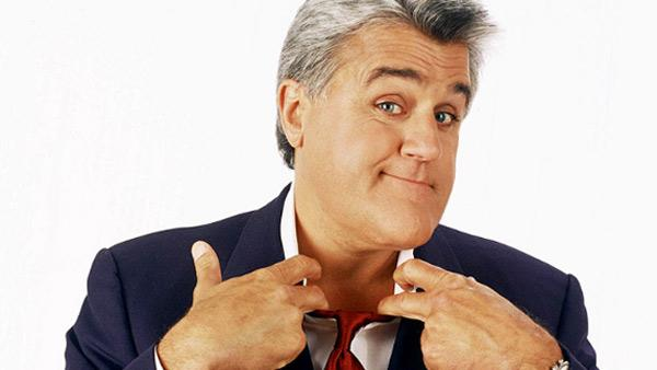 Jay Leno appears in a promotional photo for The Tonight Show. - Provided courtesy of NBC