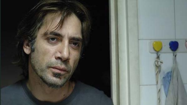 Javier Bardem in a scene from the 2010 movie, 'Biutiful'.
