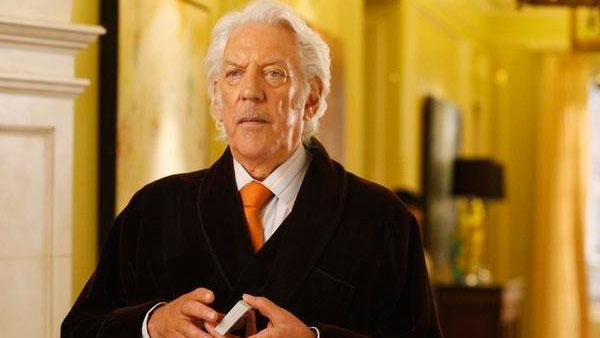 Donald Sutherland appears in a promotional still in 2008 for the series Dirty Sexy Money. - Provided courtesy of ABC