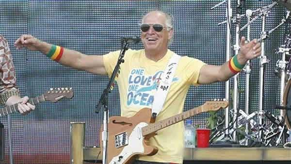 Jimmy Buffett performs Sunday, July 11, 2009 in Gulf Shores, Ala. - Provided courtesy of AP / Chip English