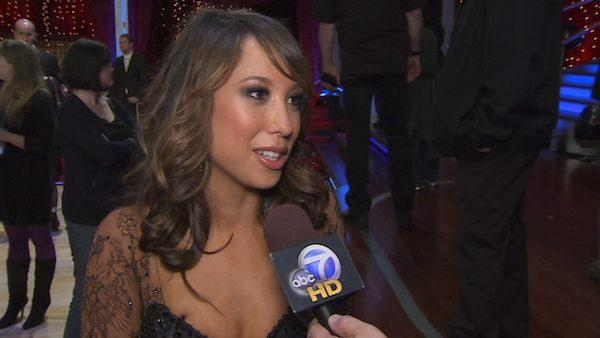 Cheryl Burke speaks to OnTheRedCarpet.com in May 2010 after a performance on Dancing With the Stars. - Provided courtesy of KABC