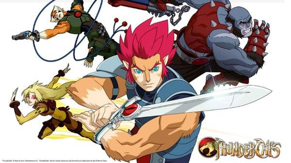 This image of the new Thundercats animated series was released by Todd Casey, a writer on the new Cartoon Network show, on his Twitter page on Jan. 26, 2011. - Provided courtesy of twitpic.com/photos/wordwarthree