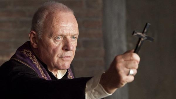 Anthony Hopkins in a still from the 2011 film, The Rite. - Provided courtesy of Photo courtesy of New Line Cinema