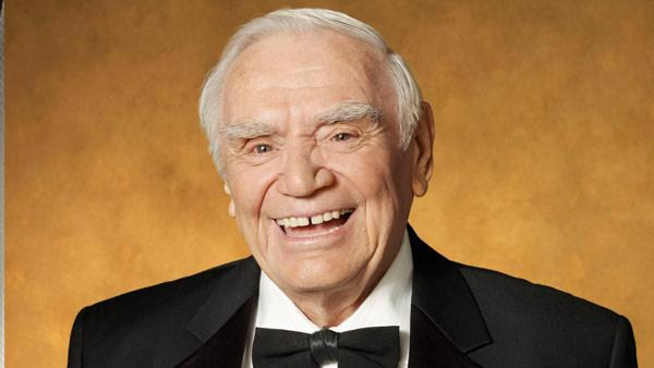 Ernest Borgnine in a promotional photo for the 2011 SAG Awards where he is set to receive the Life Achievement award. - Provided courtesy of Mark Hill / SAG